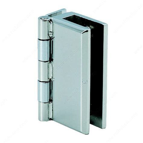 stainless steel hinge for glass or acrylic door recessed