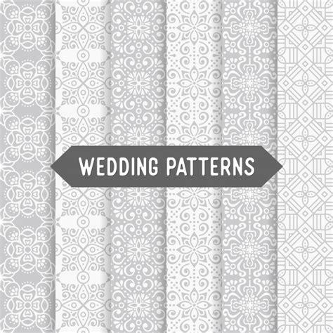 freepik wedding pattern ethnic floral wedding patterns vector free download