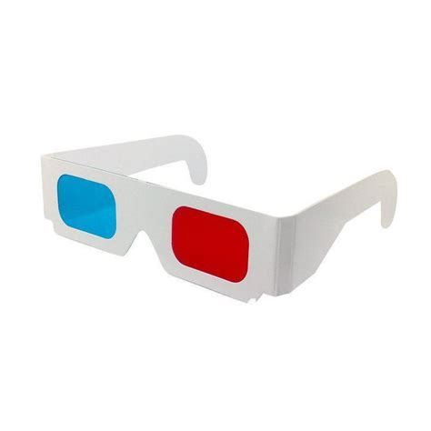 How To Make Paper 3d Glasses - paper cyan 3d glasses promotion shopping for
