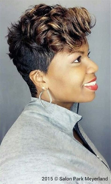 houston tx short hair sytle for black women 50 most captivating african american short hairstyles and