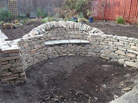 garden wall bench stone bench musselburgh stone inspired
