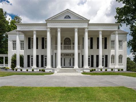 greek revival mansion estate of the day 1 8 million greek revival mansion in