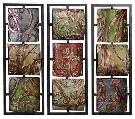 2piece vintage metal bird wall art panel frame sculpture designer home decor set ebay vineyard scrollwork three panel metal wall art