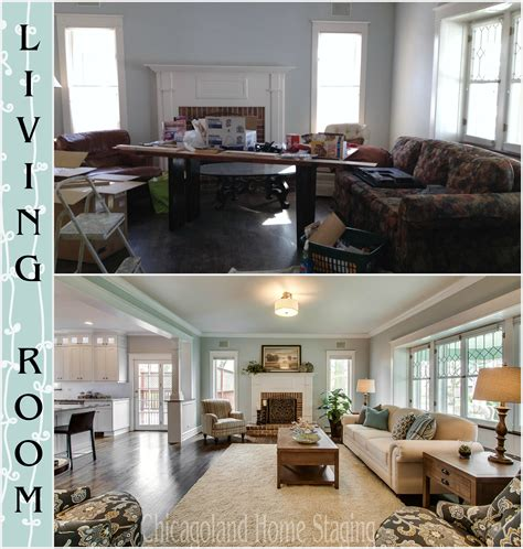 before and after staging home staging archives chicagoland home staging