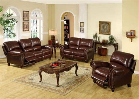 Living Rooms With Leather Sofas Leather Living Room Ideas Modern House