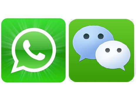 mobile wechat whatsapp or wechat take your