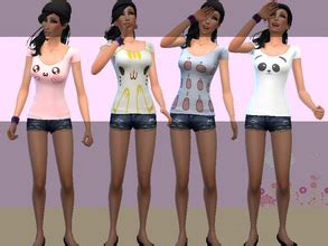 for my sims sunset caramel kawaii mini dress kawaii clothes sims 4