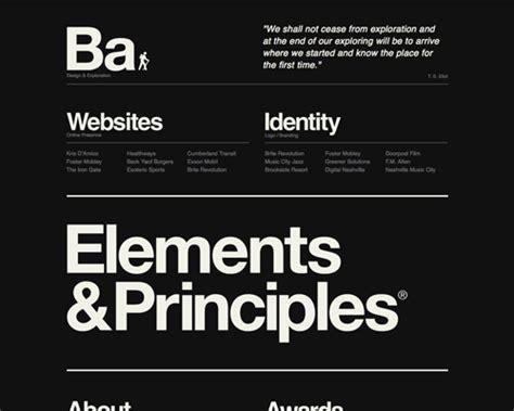 Minimalist Design Principles by Principles Of Minimalist Web Design With Exles