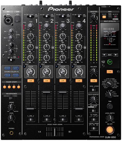 Mixer Dj pioneer djm 850 k 4 channel dj mixer with fx pssl