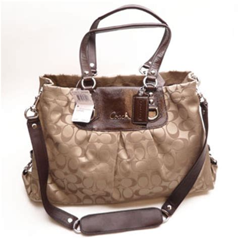 bags harry hines the coach signature sateen cryal f15510