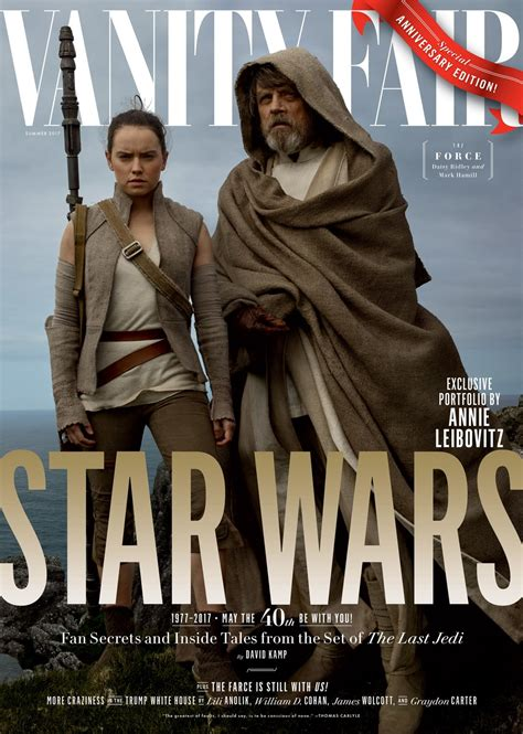 New Vanity Fair Cover by Wars The Last Jedi Cast Feature On Vanity Fair S