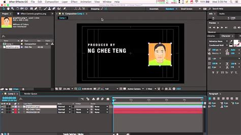tutorial after effect cc 2015 creating a simple motion graphics with after effects cc
