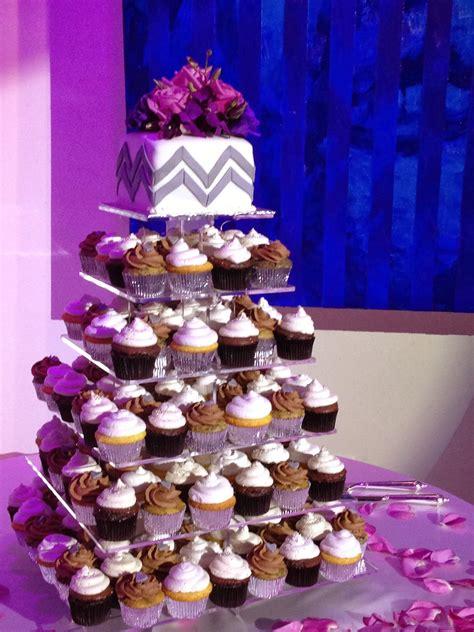 Plumeria Cake Studio Modern Squwedding  Ee  Cupcake Ee   Tower