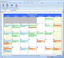 microsoft excel planner template calendar template 2016