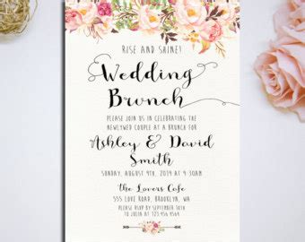 Post Wedding Brunch Invitations Post Wedding Brunch Invitations With Some Beautification For Post Wedding Brunch Invitation Template