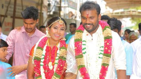 punnaga heroine marriage photos myna nandhini s husband commits suicide blames father in