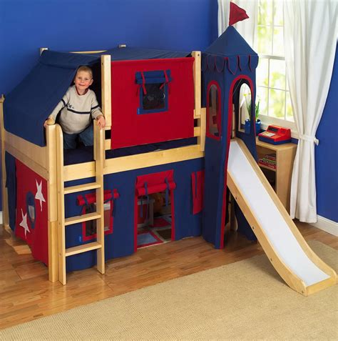 bunk beds with slide and tent bunk beds with slide and tent home design ideas