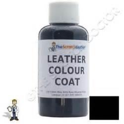 black leather colour coat re colouring kit dye stain