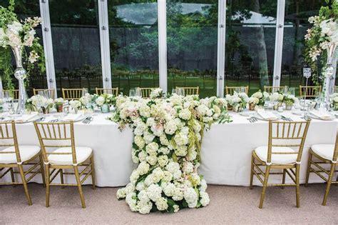 wedding reception flower arrangement reception d 233 cor photos table with draping