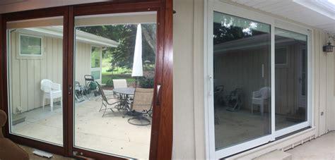 Pella Designer Series Patio Door Custom View Windows Inc Wood Or Vinyl Replacement Windows Entry Patio Doorscustom View