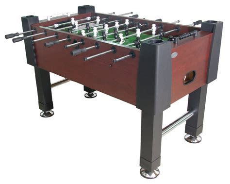 berner billiards quot the player quot foosball in mahogany