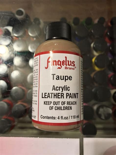 angelus paint vs angelus taupe acrylic leather paint 4 fl oz jwong boutique