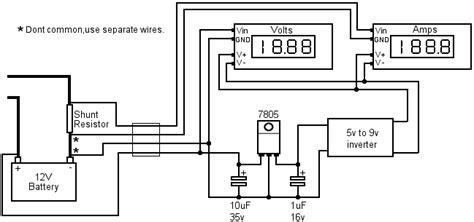 diagram panelmetercct digital ammeter wiring diagram