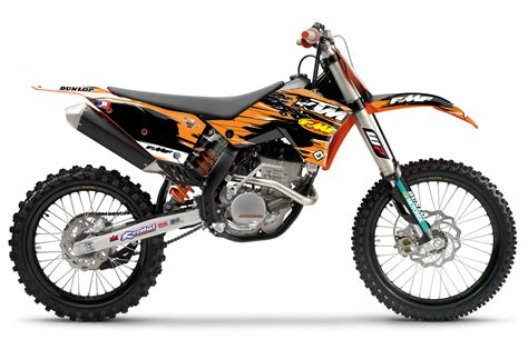2010 Ktm Graphics 2010 Ktm Fmf Factory Graphics Black Aomc Mx