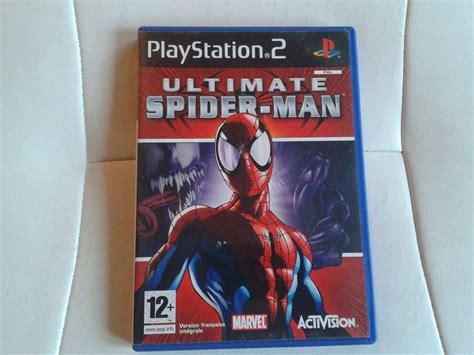 ultimate spider sur ps2 et x box playstation 2