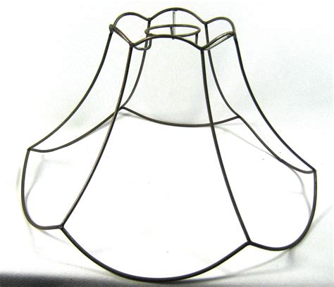 Chandelier Over Table Lamp Shade Frame Round Scallop Pendant Wire Hand By Judislamps