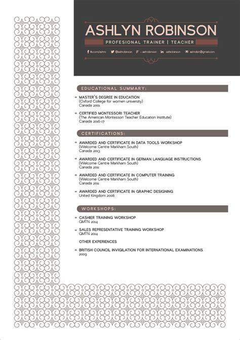 free premium professional resume cv design template with