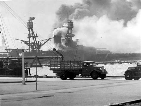 attack on pearl harbor history color pictures of world war ii history link 101 html