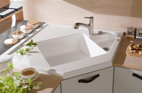 white corner kitchen sinks best 20 corner kitchen sinks