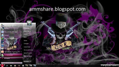 rose themes for windows 8 1 theme guns n roses for windows 7 amm share