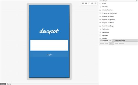 login page in relativelayout android login screen using xamarin stacktips