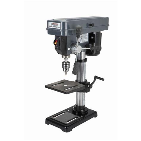best woodworking drill press 10 in 12 speed bench drill press