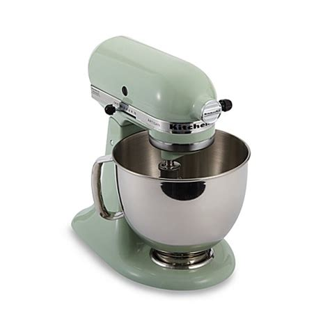 bed bath and beyond kitchenaid mixer buy kitchenaid 174 artisan 174 5 qt stand mixer in pistachio
