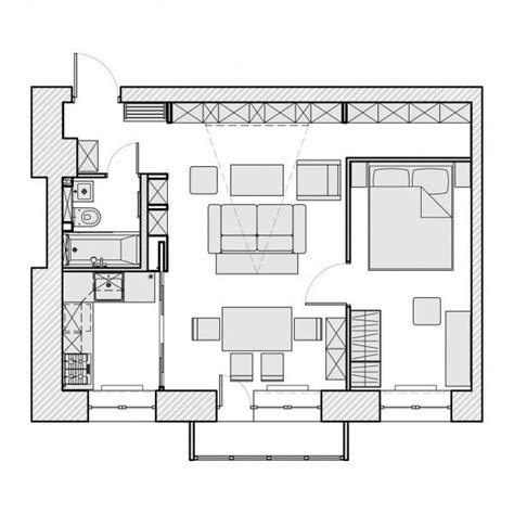 500 sq ft studio floor plans the final home in this post is just 45 square meters 484