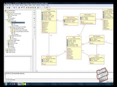 membuat uml dengan rational rose uml rational rose parte 2 4 youtube