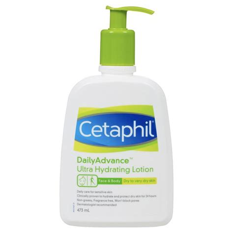 Cetaphil Daily Advance Lotion buy cetaphil daily advance ultra hydrating lotion 473ml