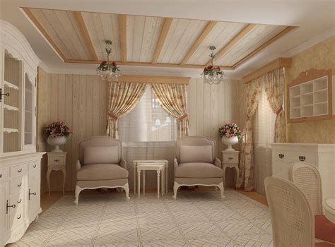 Themed Interior Design by Provence Style Interior Design Ideas