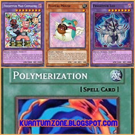Kartu Yugioh Chain Shatterfoil fluffal frightfur ygopro deck zona kuantum