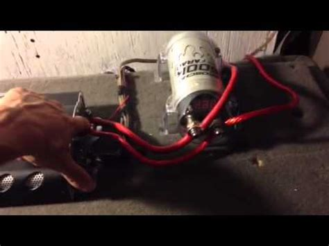 capacitor hook up how to on charging discharging and installing capacitors doovi