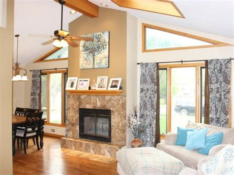 Split Level Ceiling by Wow House Updated Crestwood Split Level 3 Skylights