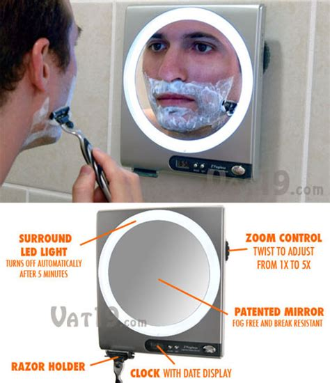 Should I Shave Before Or After Shower by Zadro Fogless Shower Mirror Is Clearly The Way To A Closer