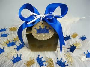 royal prince baby shower gift box kit royal blue