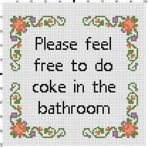 bathroom cross stitch patterns free 17 best images about i will sew make projects on pinterest aunt hand embroidery