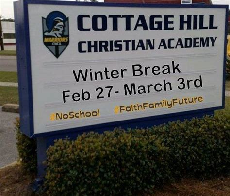 Cottage Hill Christian Academy Highlights Mid Winter Break Cottage Hill Christian Academy