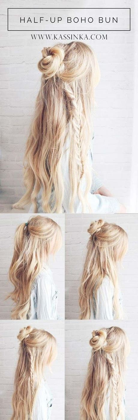 easy casual hairstyles how to easy casual updo hairstyles for long hair