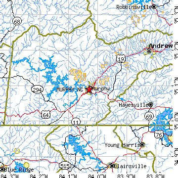 map of carolina murphy murphy carolina nc population data races